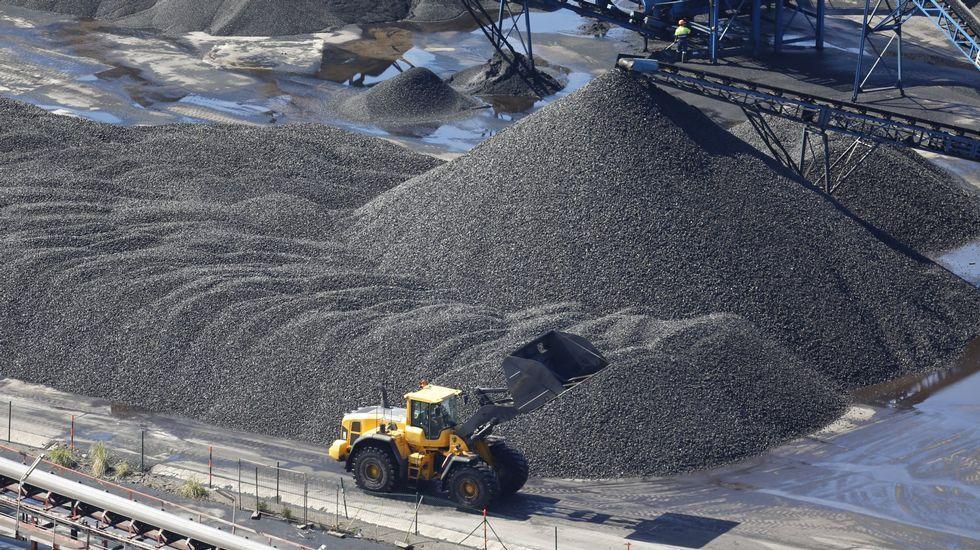 Una fotografía del pozo Pumarabule ilustra la noticia de The Guardian sobre el fin de la minería en España