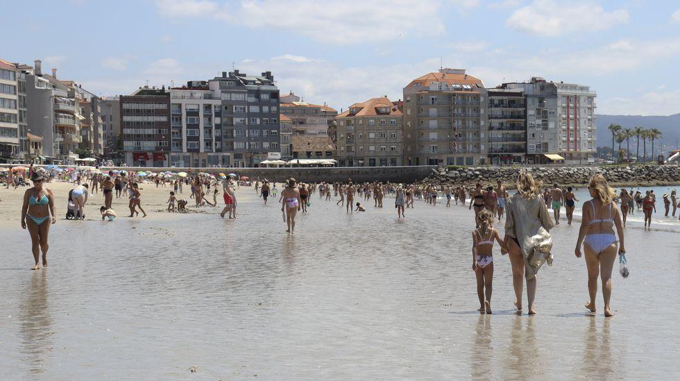 Sanxenxo mantiene este verano su posición indiscutible como capital turística de las Rías Baixas