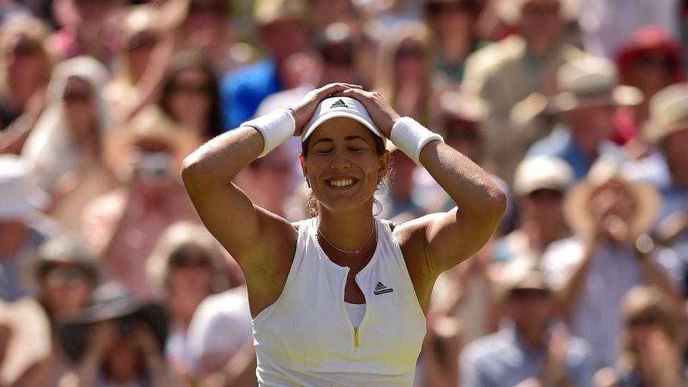Muguruza jugará la final de Wimbledon
