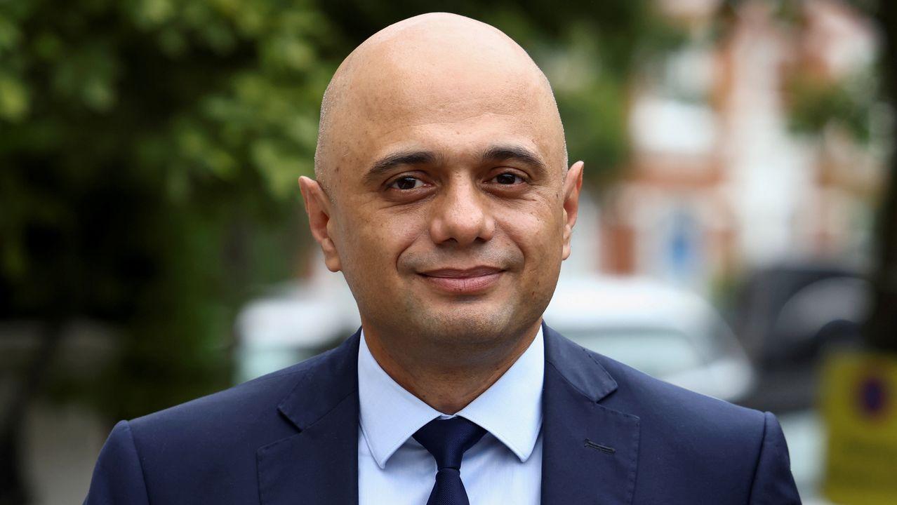 El ministro británico de Sanidad, Sajid Javid