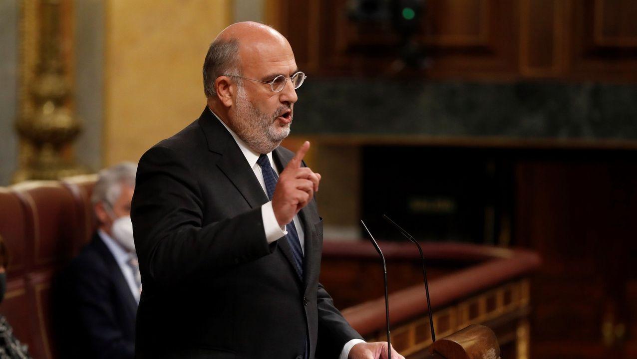 El portavoz de JxCat en el Parlamento de Cataluña, Eduard Pujol