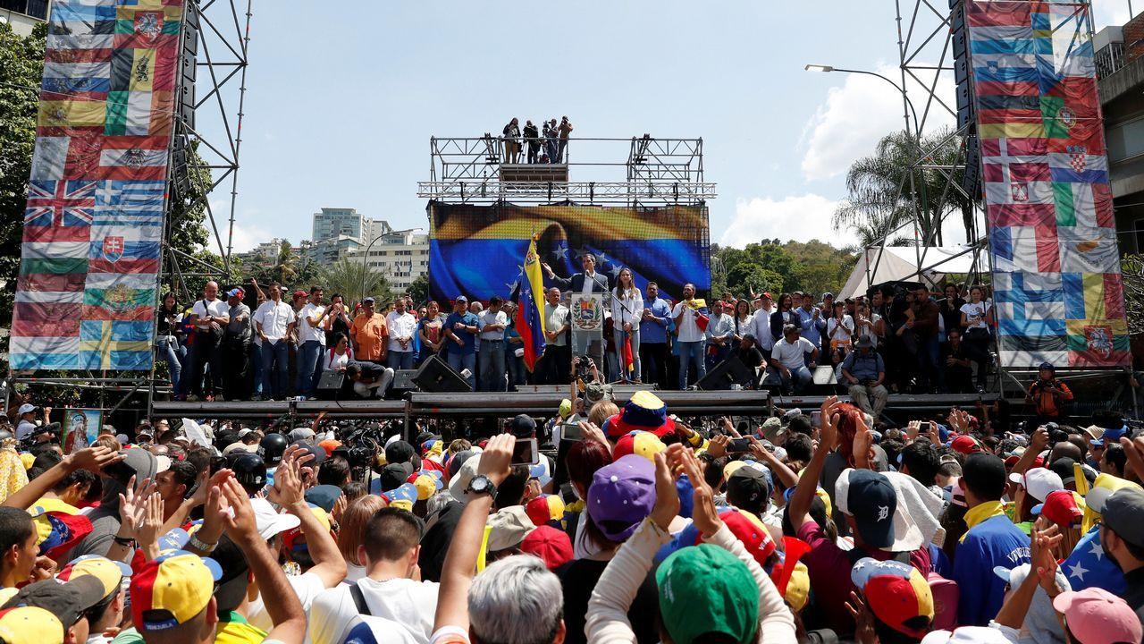 Manifestacio´n contra Nicolás Maduro