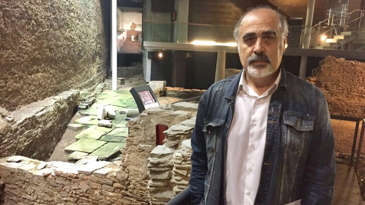 Celso Rodríguez Cao, arqueólogo del mitreo de Lugo