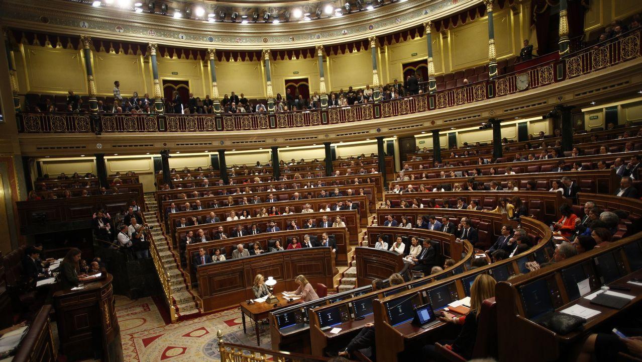 El Rey recibe en Zarzuela a las presidentas del Congreso y del Senado.Arnaldo Otegi, líder de EH Bildu