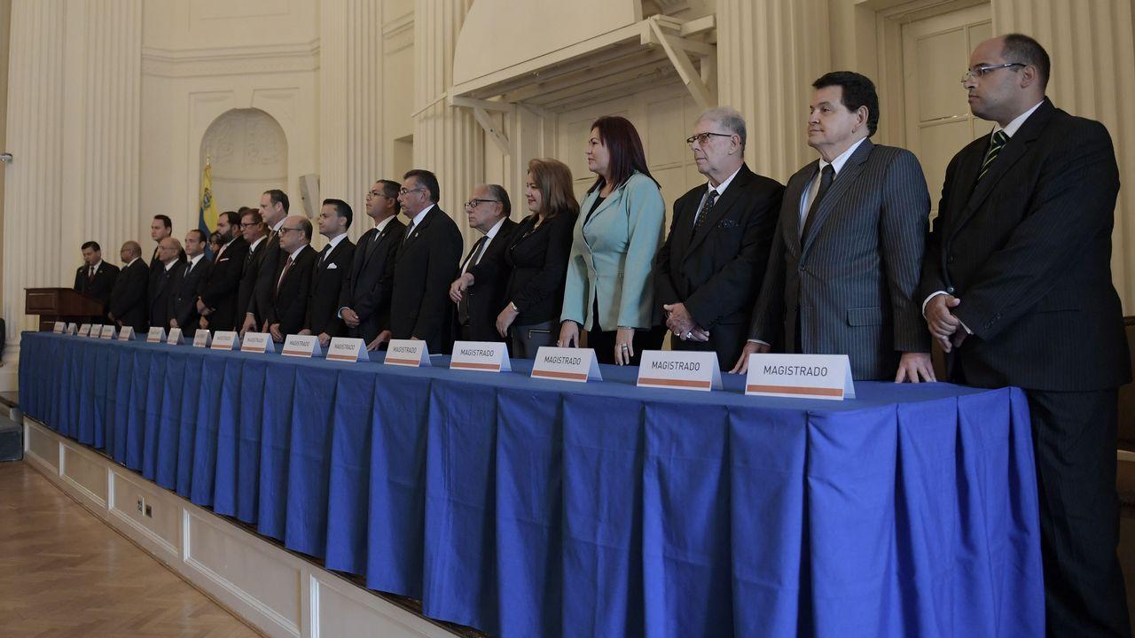 La sesión constitutiva del nuevo tribunal tuvo lugar en la sede de la OEA en Washinton