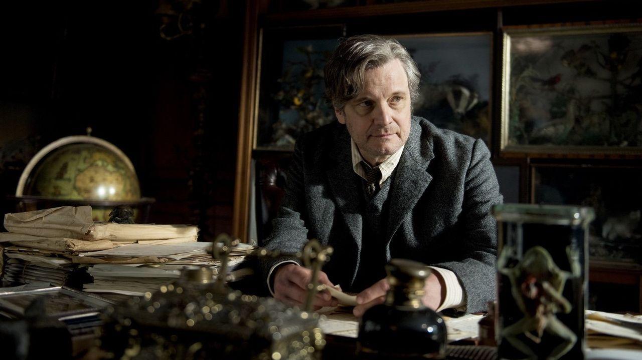 Firth, en una escena de la película