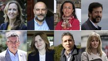 Los diputados gallegos que entran en el Congreso