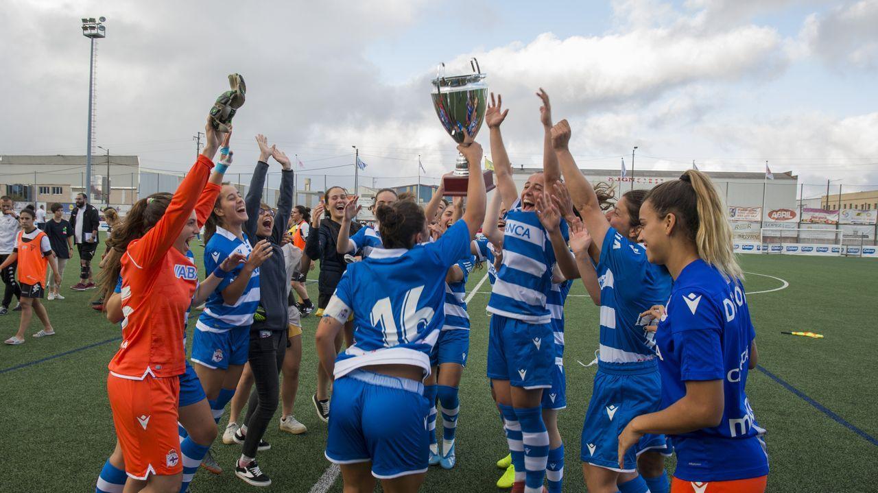 Todas las imágenes de las finales de la Copa Deputación de A Coruña