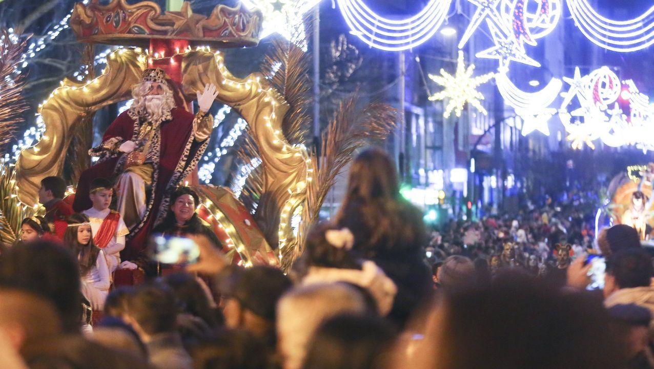 Cabalgata de Reyes del año pasado en Ferrol
