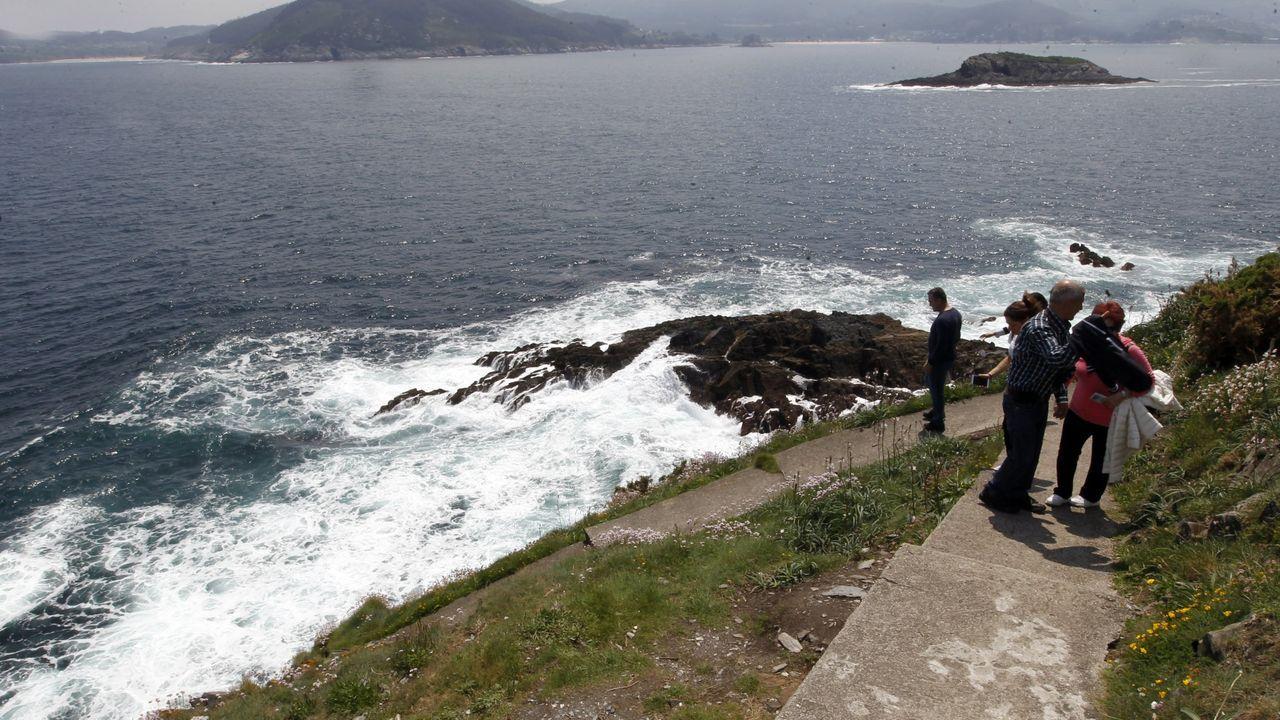 El tirón de las playas o de parajes costeros como Fuciño do Porco, en la imagen, acrecienta el interés por los terrenos próximos