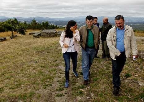 El voluntariado fue presentado en el monte Pedroso.