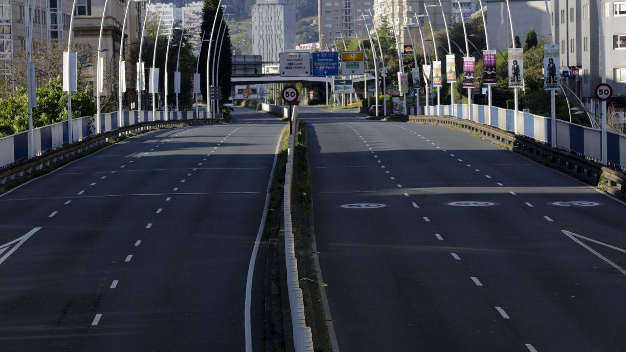 Avenida de Alfonso Molina (A Coruña).