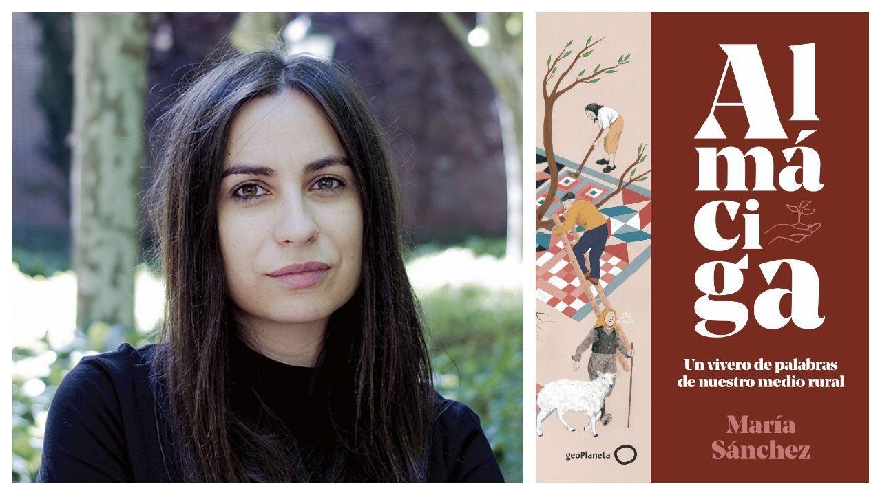 María Sánchez (Córdoba, 1989) publica «Almáciga. Un vivero de palabras de nuestro medio rural», que llega el día 8 de septiembre a las librerías