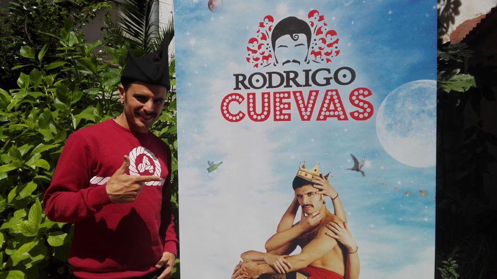 Rodrigo Cuevas: orgullo de Verdiciu en el centro de Oviedo