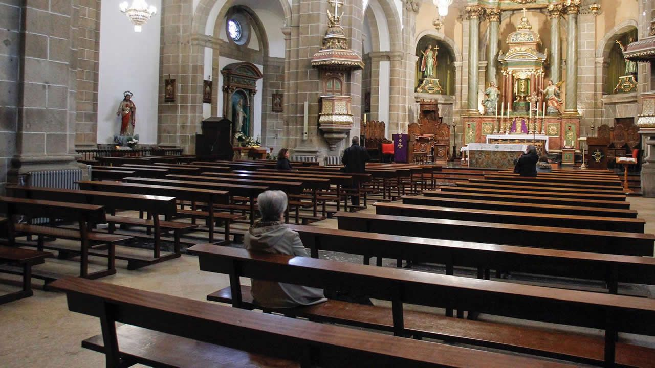 Concatedral de San Julián, en Ferrol, a las 11.45 horas