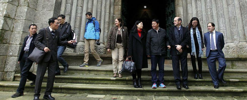 Las diez personas más ricas del mundo.La delegación china, en su visita para sondear oportunidades de negocio en la provincia de Pontevedra, del pasado diciembre.