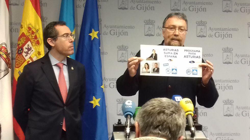 Fernando Couto e Isidro Martínez Oblanca