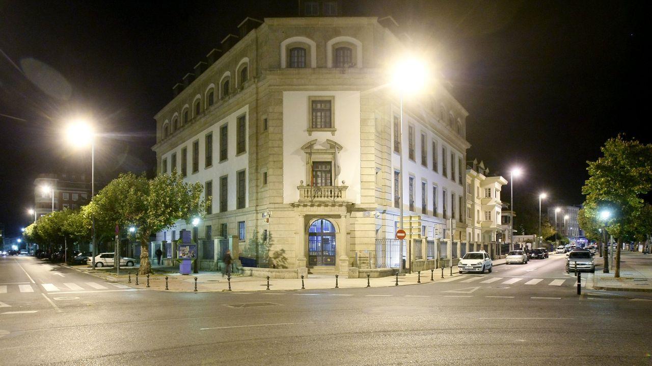 Imagen de archivo de la Audiencia Provincial de Lugo, donde el 8 de junio fue juzgado el ahora condenado