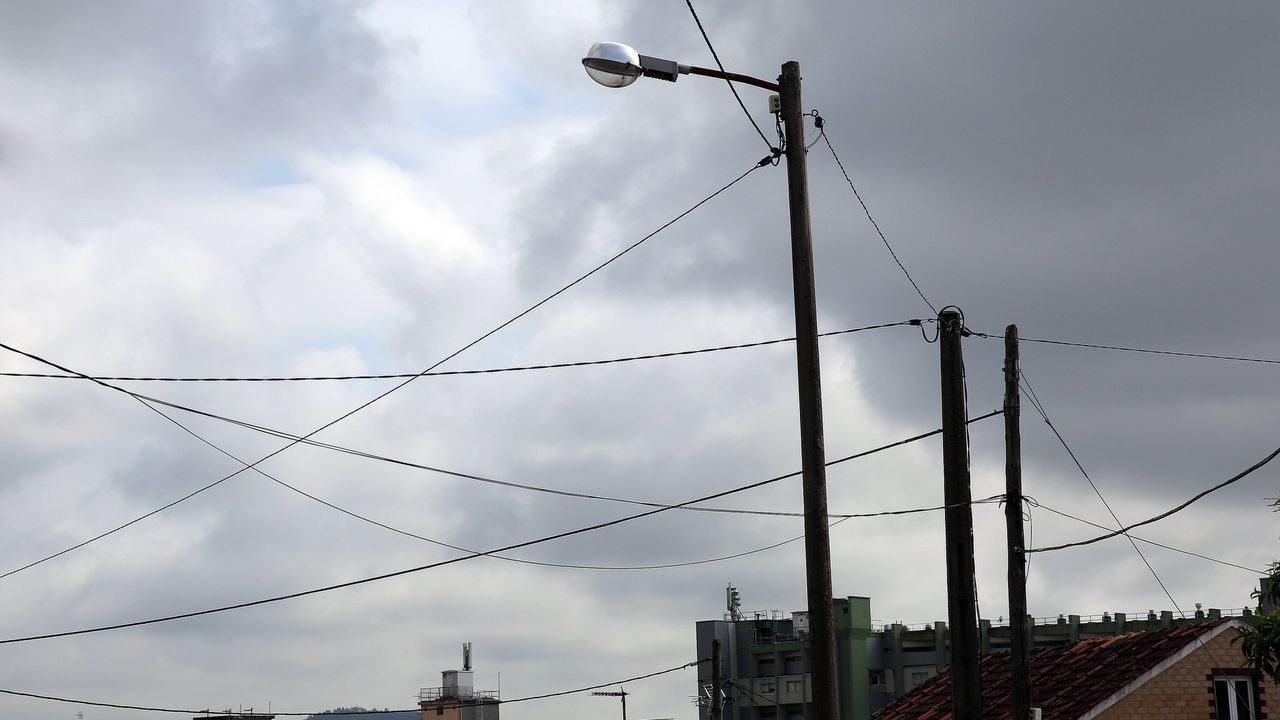 Vista aérea de la depuradora de Bens, que da servicio a cinco municipios del área coruñesa