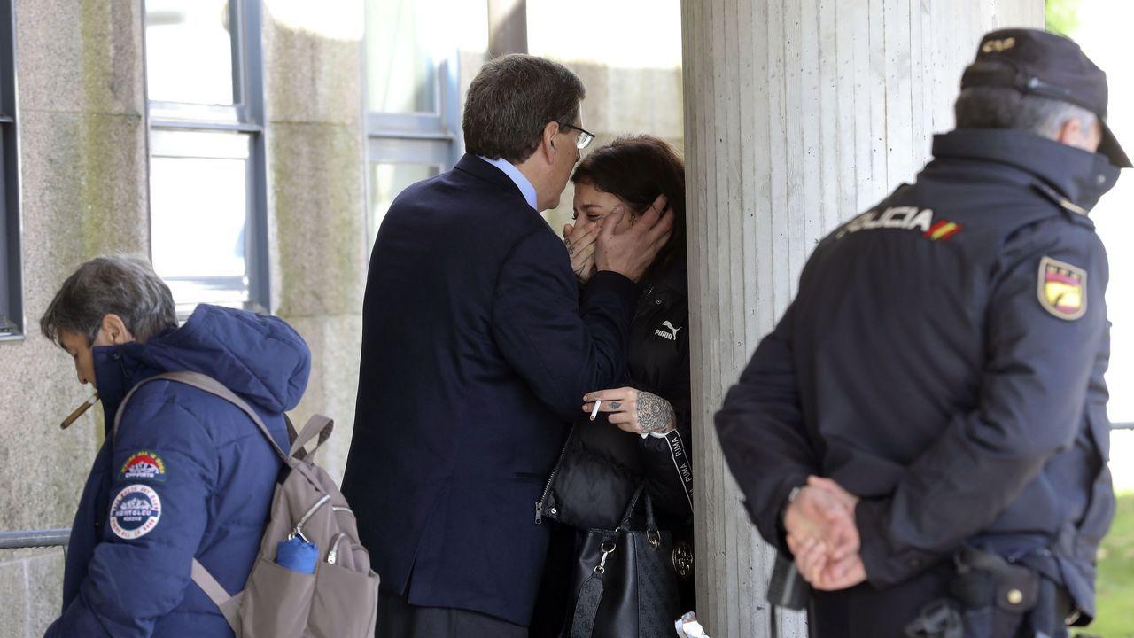 Juan Carlos Quer con su hija Valeria