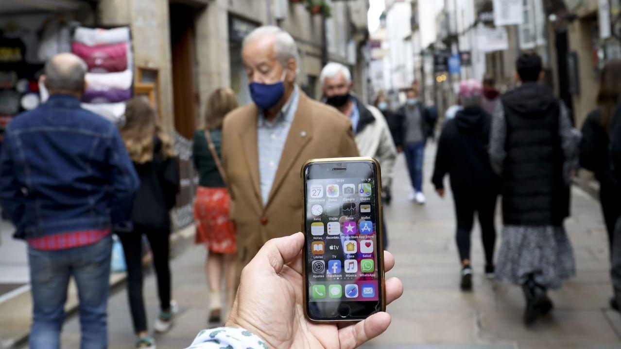 Antenas de telefonía móvil en Lalín