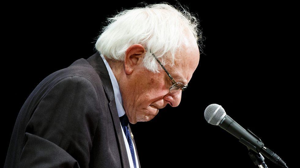 Bernie Sanders, candidato demócrata a la Casa Blanca
