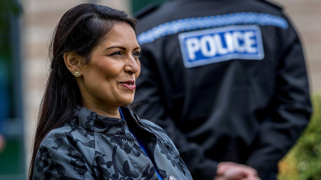 Priti Patel, ministra británica de Interior
