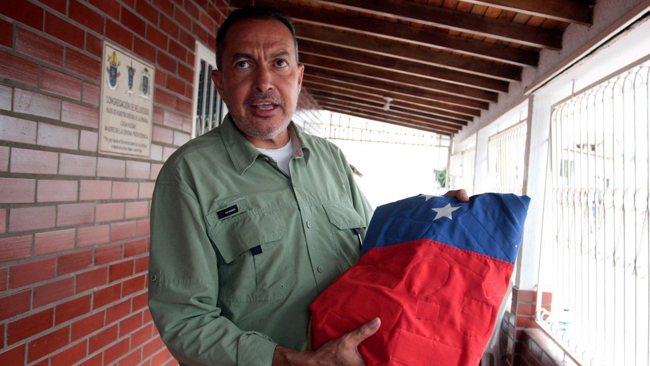 El diputado opositor Richard Blanco
