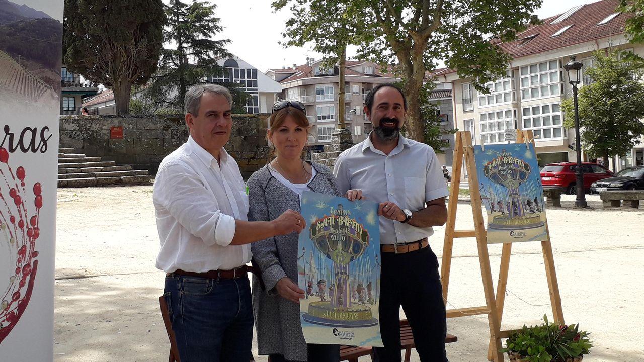 La cosecha de la uva en O Salnés.Un diseño de Jorge Álvarez cerrará el desfile del CCA de O Barco