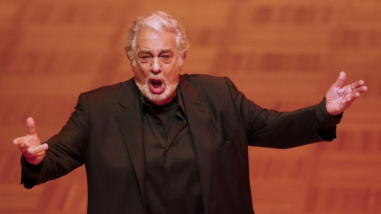 Teatros y festivales cancelan las actuaciones que tenían programadas con Plácido Domingo.Plácido Domingo, en una imagen de archivo