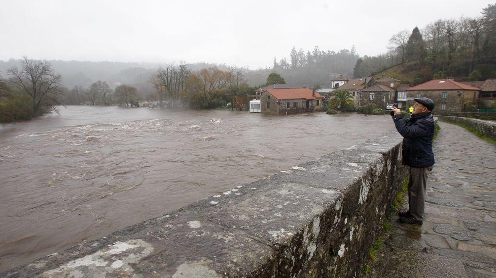 Las lluvias caídas en las últimas horas han sido muy intensas.