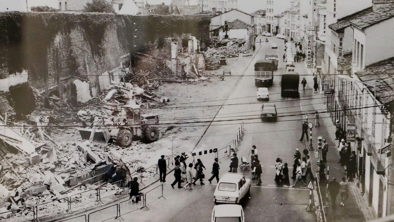 Las imágenes de la operación Muralla en 1972