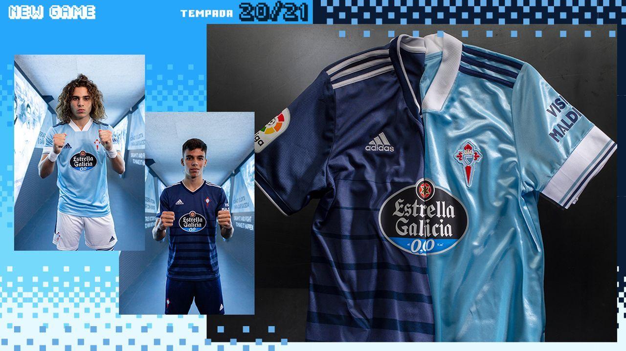 El Celta presenta las equipaciones de la temporada 2020/2021