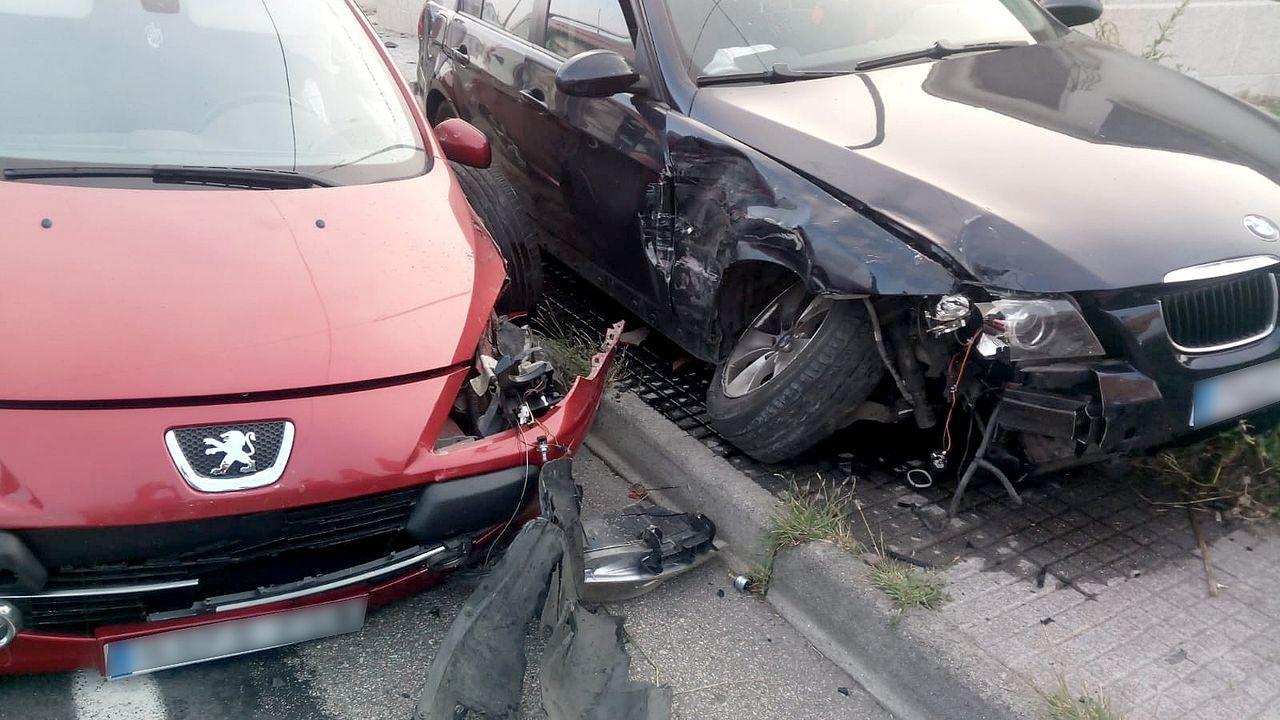 Quema el coche de su pareja y muere atropellado en la autopista.Andrés Hinter, en Dublín