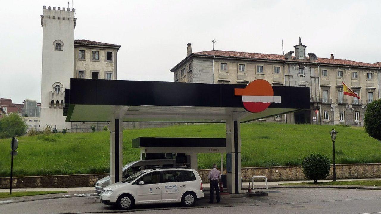 Cuartel de Buenavista, en Oviedo