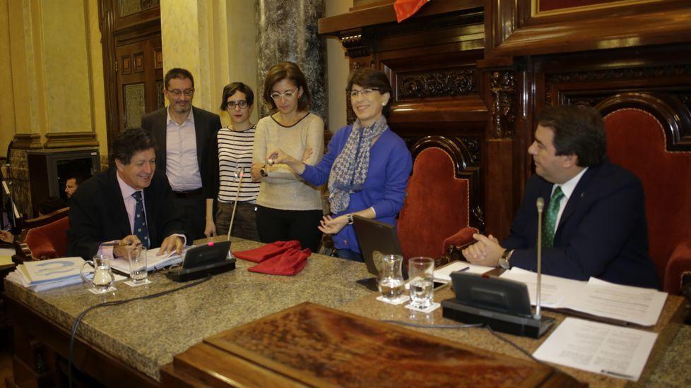 Darío Villanueva: «El periódico es y será insustituíble».Darío Villanueva, retratado en la biblioteca de su casa en Santiago de Compostela.