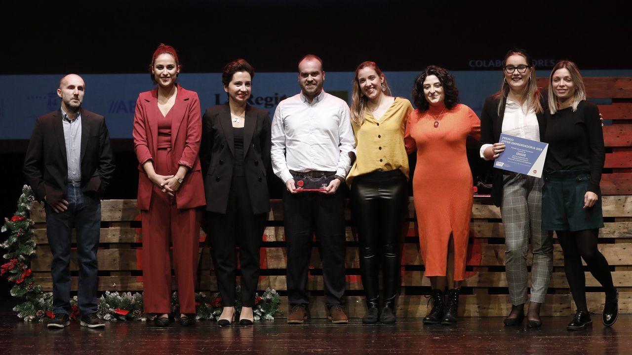 La gala del emprendimiento de Ferrolterra en imágenes.Raquel Queizás ofrecerá un cuentacuentos en Vilalba