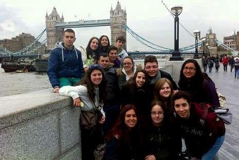 Los alumnos del Magariños disfrutaron de su estancia en Londres.