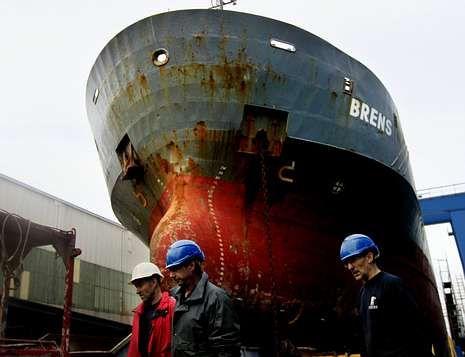 Muchos parados del naval han buscado empleo en otros sectores, según los sindicatos.