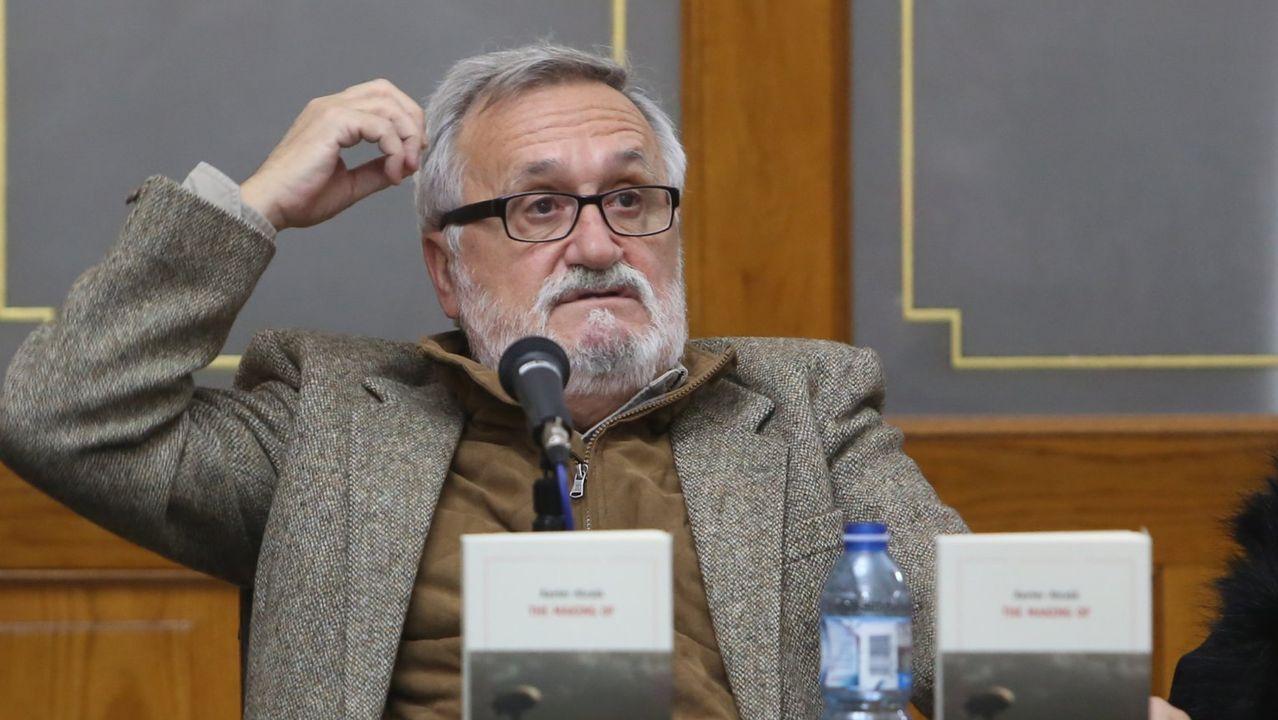 O escritor Xavier Alcalá