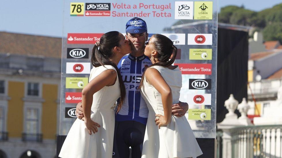 Subida al Angliru en la Vuelta  España 2011