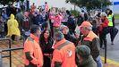 Manifestación en el Campionato Galego de Caza do Raposo celebrado hace una semana