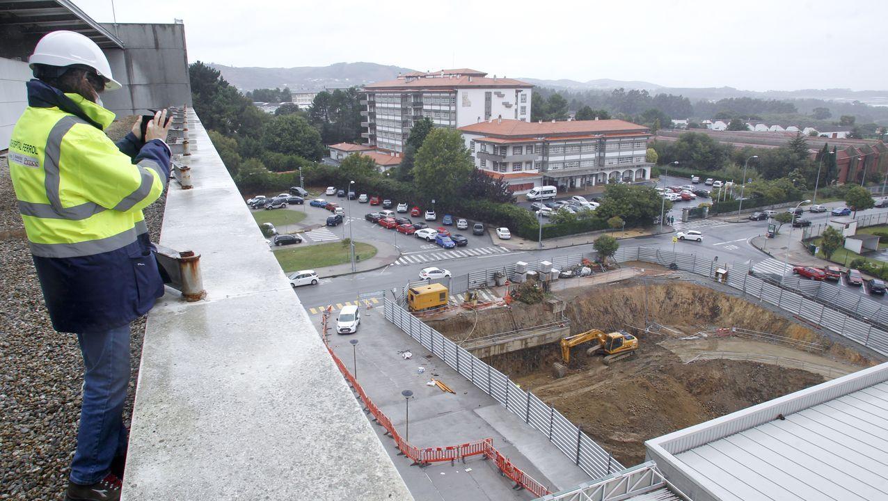 ¿Cómo están cambiando el CHUF con la obra de los nuevos edificios?.El facultativo considera que hay mucha presión sobre los centros de salud