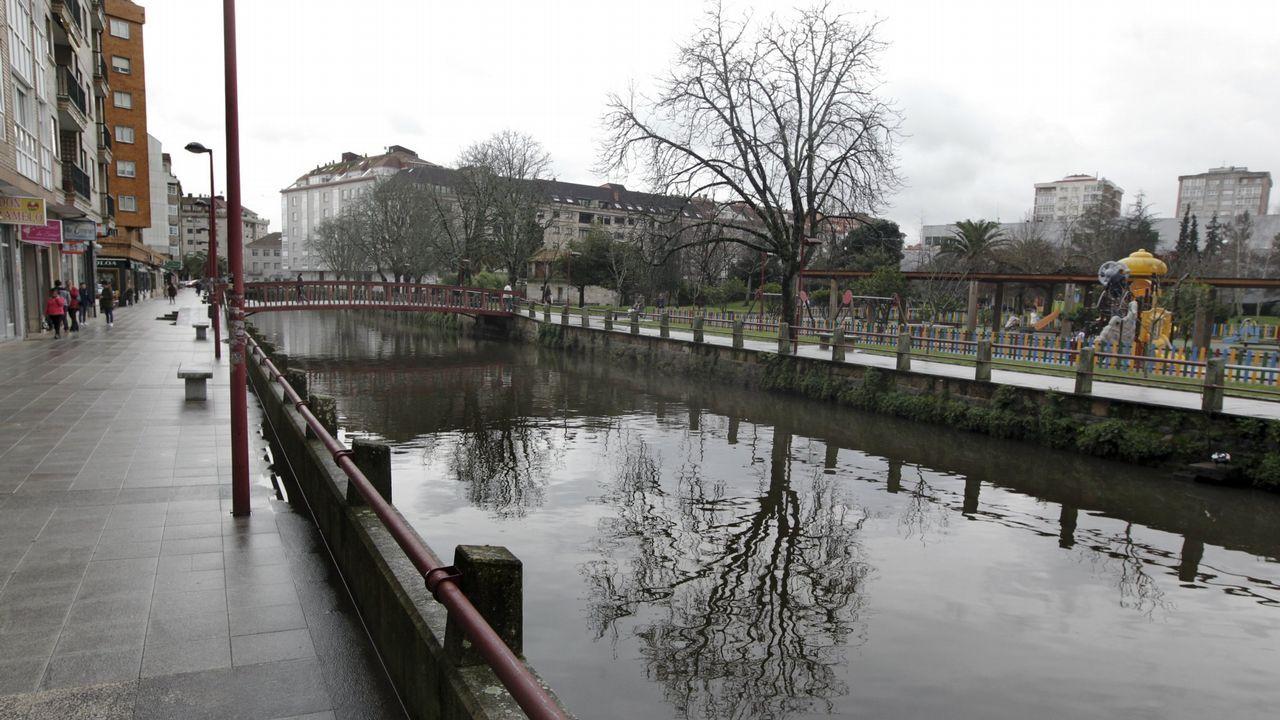 El parque del Rinconín, en Gijón.Nikola Jerkan, exjugador del Real Oviedo