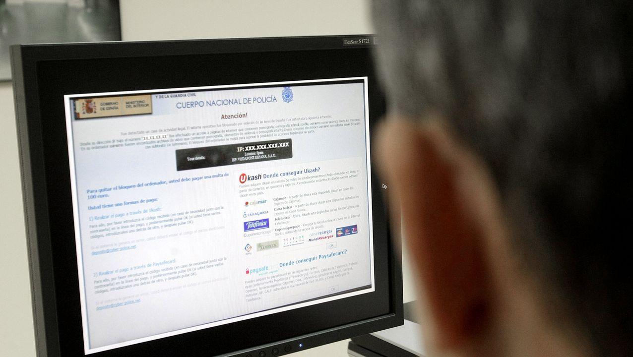 Imagen de una web que la Policía Nacional detectó como causante de estafas