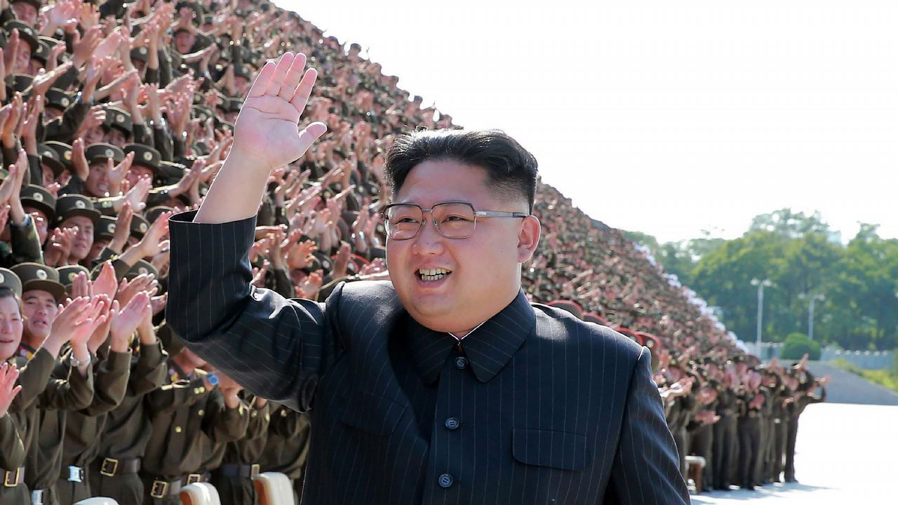 En imágenes: así está siendo el viaje de Donald Trump en Extremo Oriente.El líder norcoreano Kim Jong-Un, en un acto militar en Pyongyang