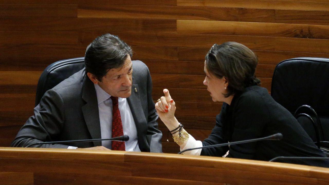Javier Fernández y Dolores Carcedo