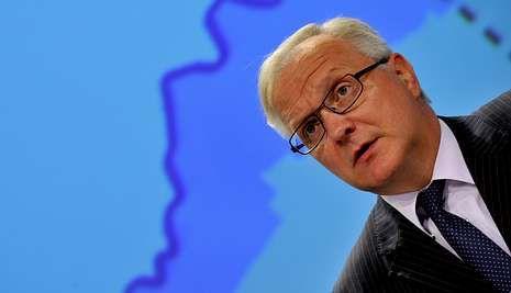 Rehn desgranó ayer en Bruselas las previsiones de otoño de la Comisión Europea.