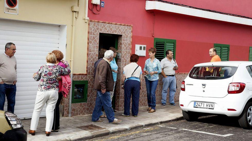 Nueve desaparecidos en el derrumbe de un edificio en Tenerife.Imagen de archivo