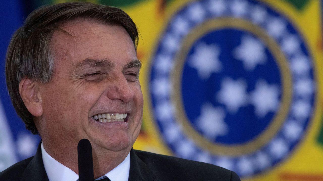 Bolsonaro, durante el lanzamiento del programa «Adopte un Parque»